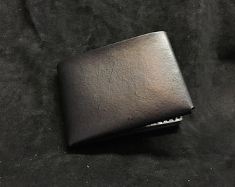 Black Leather Wallet Minimalist