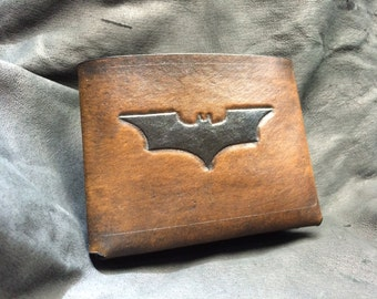 Leather batman dark knight Wallet