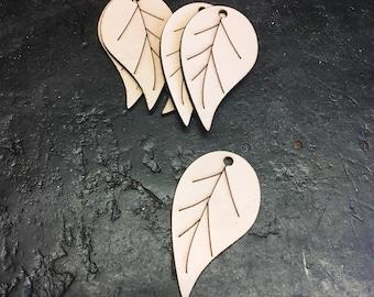 Leather leaf blanks