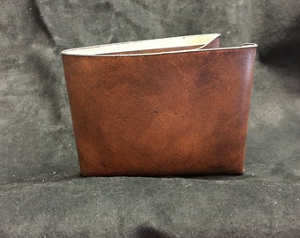 Old Stock - Brown Leather Wallet Minimalist