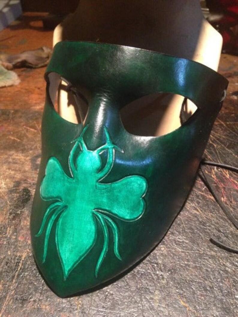 Green Hornet Leather mask