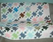 Scrappy Anvils Quilt Lap Quilt Table Quilt Baby Quilt