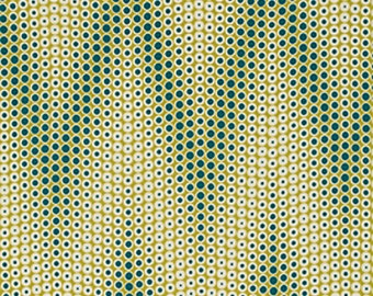 Joel Dewberry Fabric by the Yard - Bungalow - Zigtone in Grassland - Quilter's Cotton
