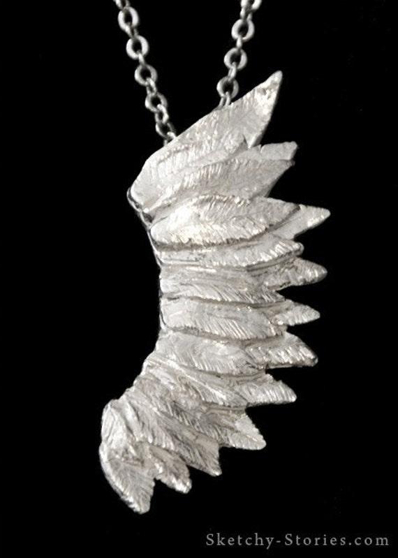 Bird/'s Wing Locket