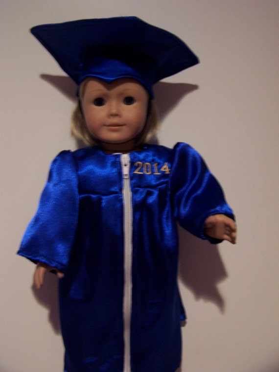 cap and gown to fit American girl doll | Etsy