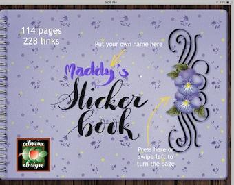Digital Sticker Book for GoodNotes app