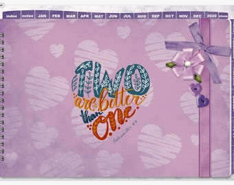 Valentine 2020 Digibujo for GoodNotes with stickers