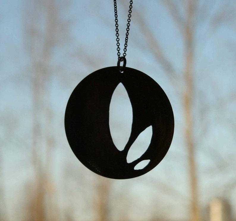 Tri-Leaf Necklace image 0