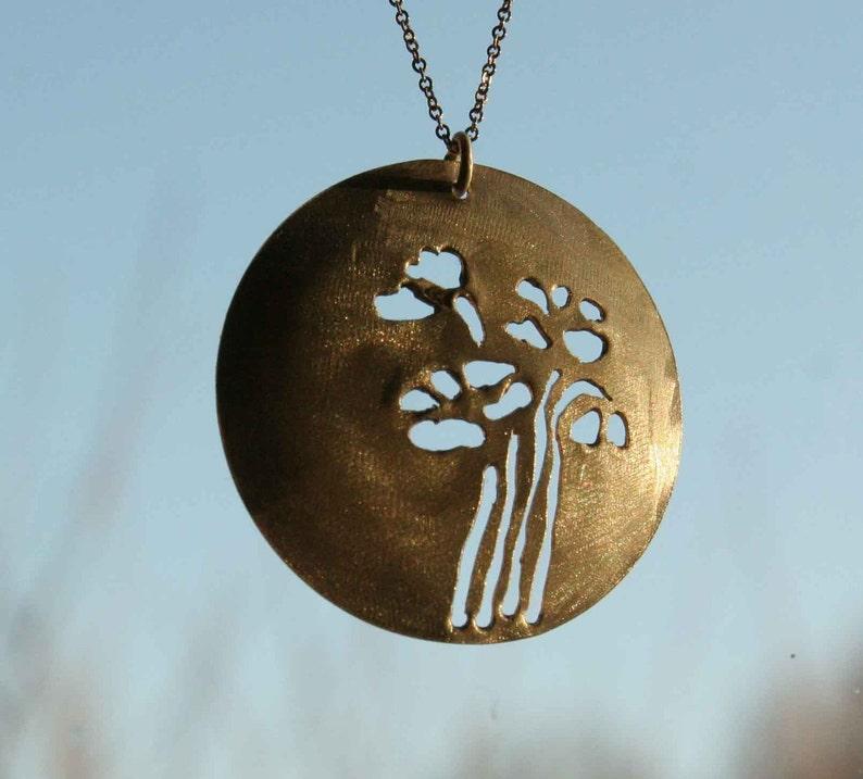 Poetic Poppy Necklace image 0