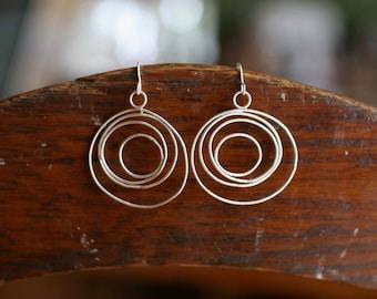 Delicate Cycle Earrings