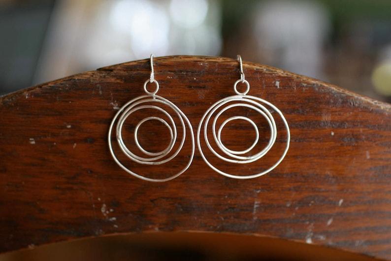 Delicate Cycle Earrings image 0