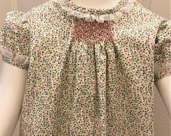 Spring DelightSmocked  Dress for Girls