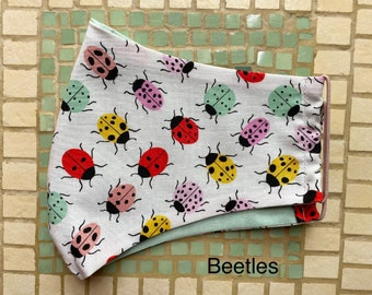 Clearance Beetles cotton face mask