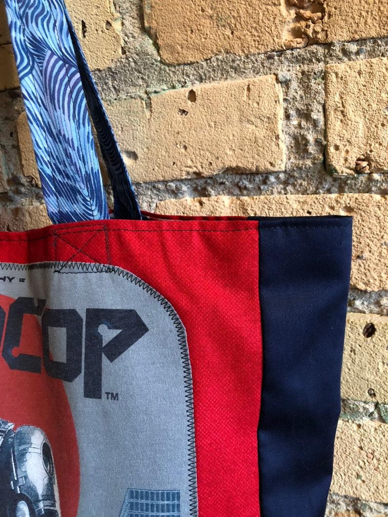 Robocop tshirt market bag