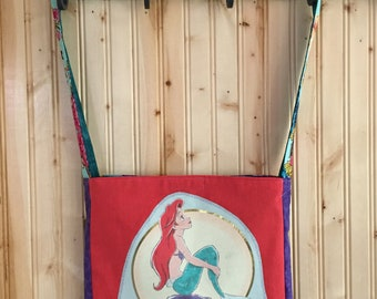 Little mermaid dreaming tshirt bag