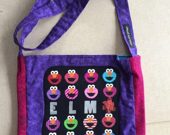 Elmo tshirt bag