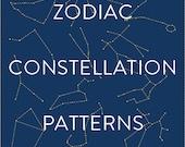Zodiac Constellation Patterns