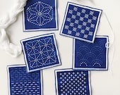 Sashiko Mini Sampler Kit