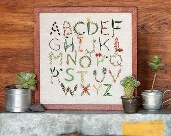 Nature Inspired Alphabet Sampler