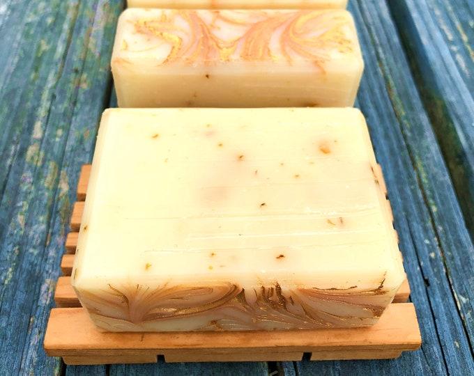 Lemongrass Loofah Handmade Soap