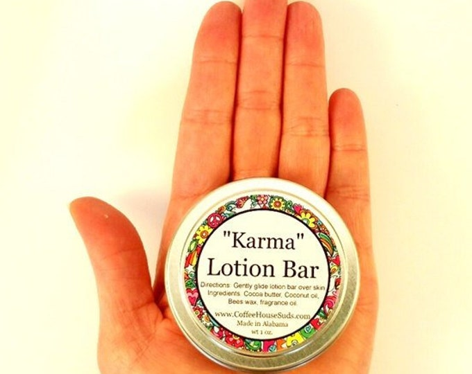 Karma Lotion Bar - Travel Tin - Free Shipping