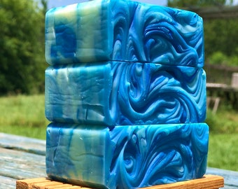 Bayou Blueberry Handmade Soap