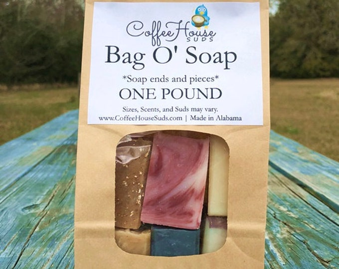 Bag Of Soap - 1 Pound of Soap