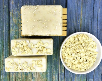 Rough & Naked Goat's Milk Soap - Fragrance Free