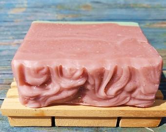 Pink Magnolia Handmade Soap