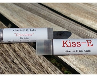 Chocolate Lip Balm - Kiss E