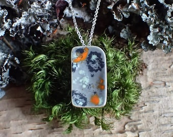 granite slab necklace