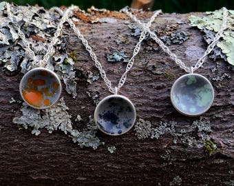 granite dot necklaces
