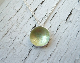 first frost nasturtium necklace