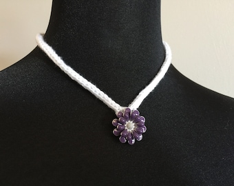 Spring Bloom Choker Necklace