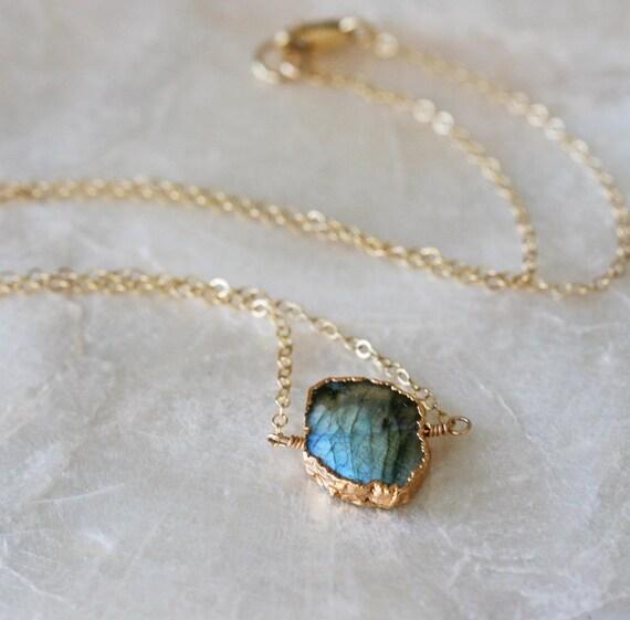 Labradorite Layering Necklace