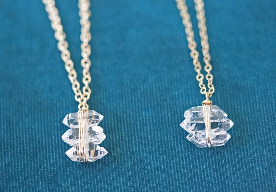 Herkimer Diamond Pendant Necklace
