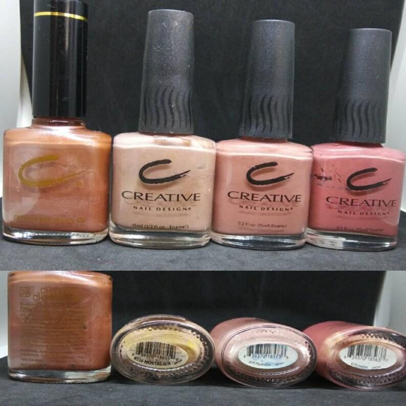 Vintage Nail Polish used Creative Nail Designs CND 30 Chilled | Etsy