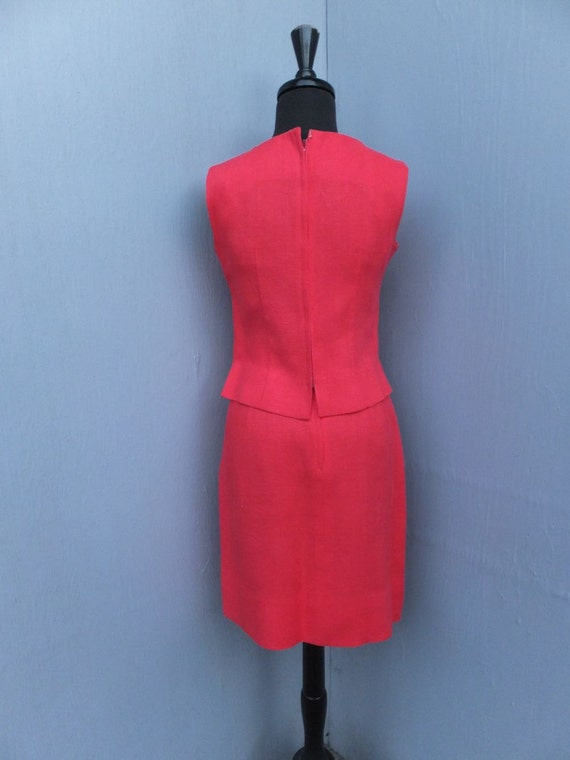 CLASSIC 1960s Suit,  I. Magnin, Linen Suit, Summe… - image 4