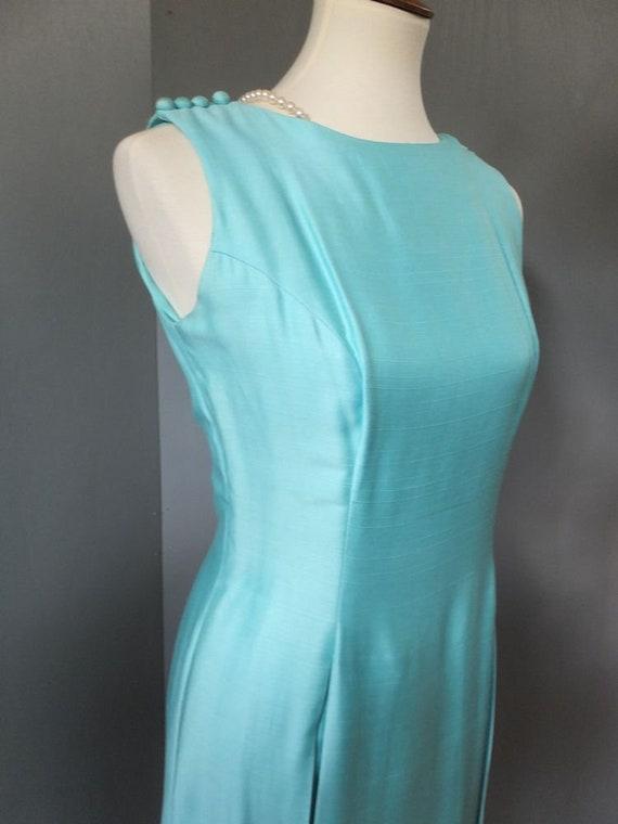 Vintage Suzy Perette, 2 pc. Dress, Robin's Egg or