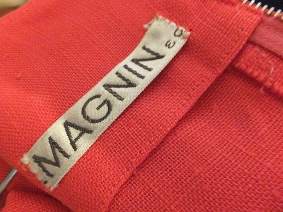 CLASSIC 1960s Suit,  I. Magnin, Linen Suit, Summe… - image 5