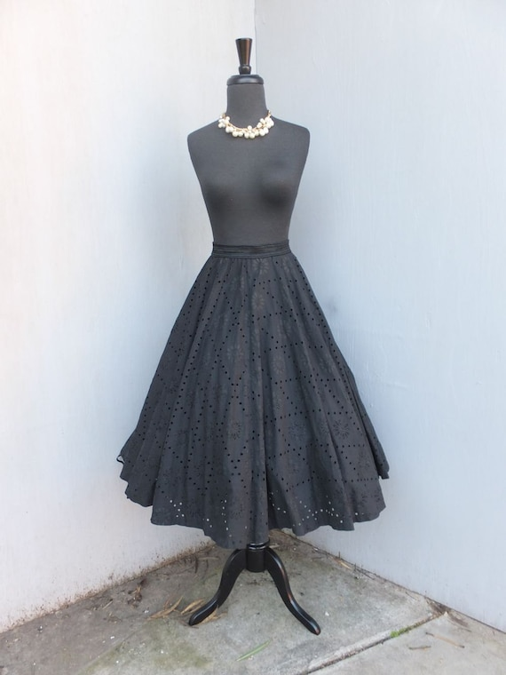 Vintage 1950s Circle Skirt, New Look, Smart Set Sp