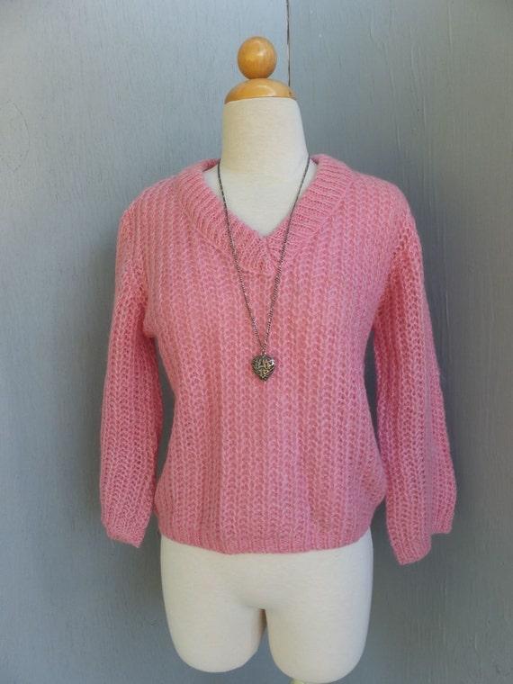 Vintage Sweater, RARE 1950s/60s Evan Picone Mohair