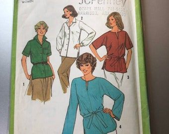 Simplicity 9049 Easy To Sew Misses Back Wrapped Skirts Sewing Pattern Sz 14-22
