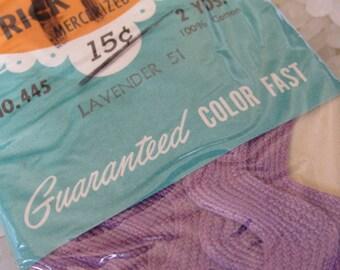 Vintage  rick rack lavender