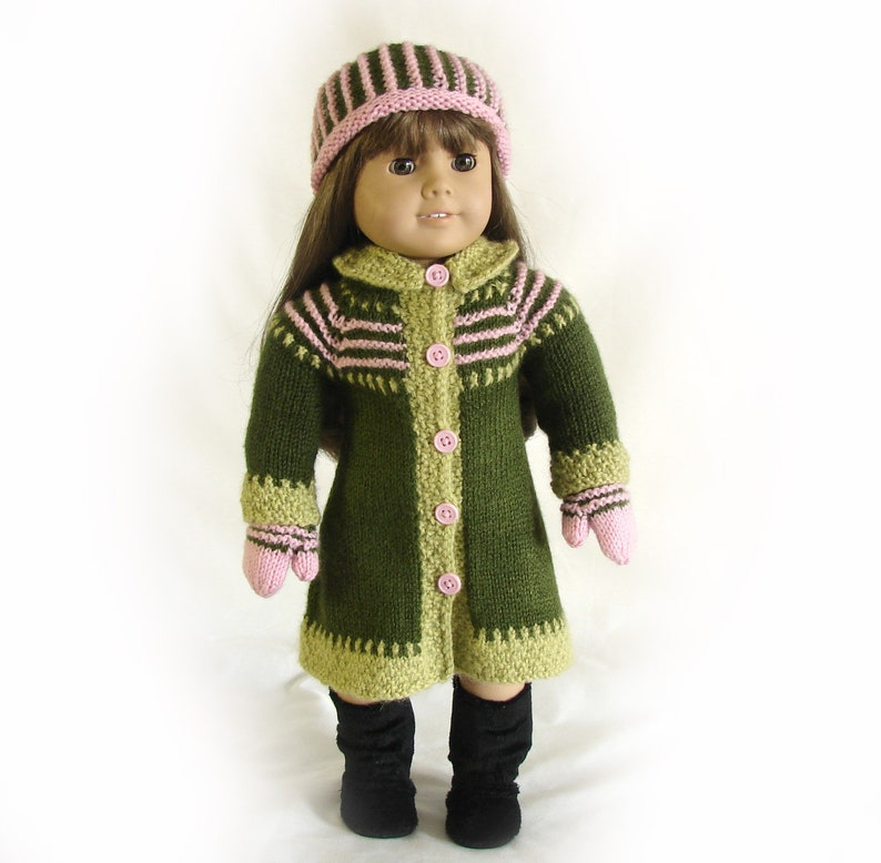 """Light Aqua Mittens 18/"""" Doll Clothes Fits American Girl One Pair"""