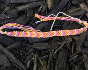 Sherbet colored Layering bracelet