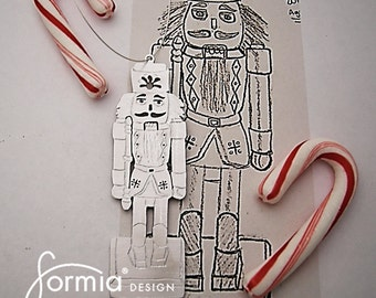 Christmas ornament with your child's drawing