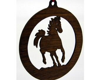 Horse Ornament 1.