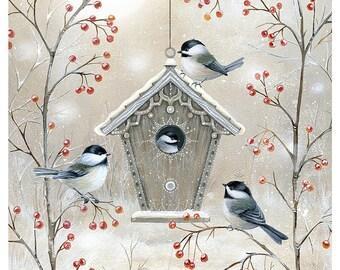 Little Birds - Archival Giclee Print