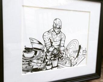 Captain America, Fighting Grime